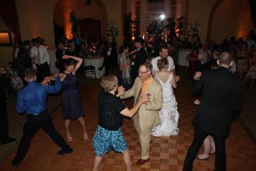 Shirley and I dancing at our niece's wedding.
